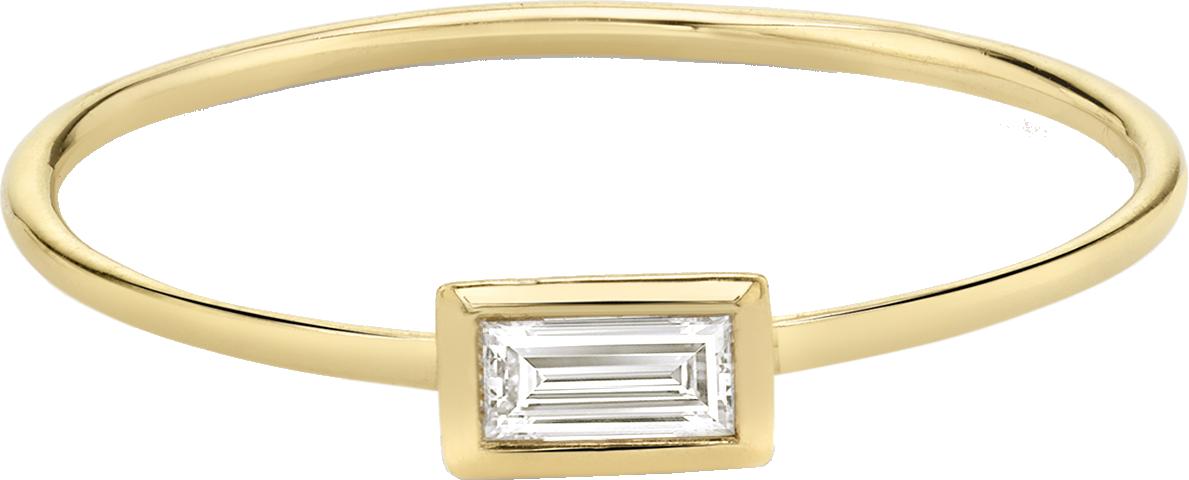 Baguette Bezel Ring
