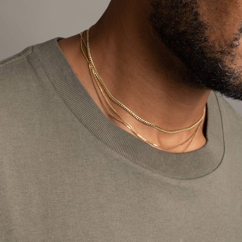 Closeup image of Cuban Link Chain