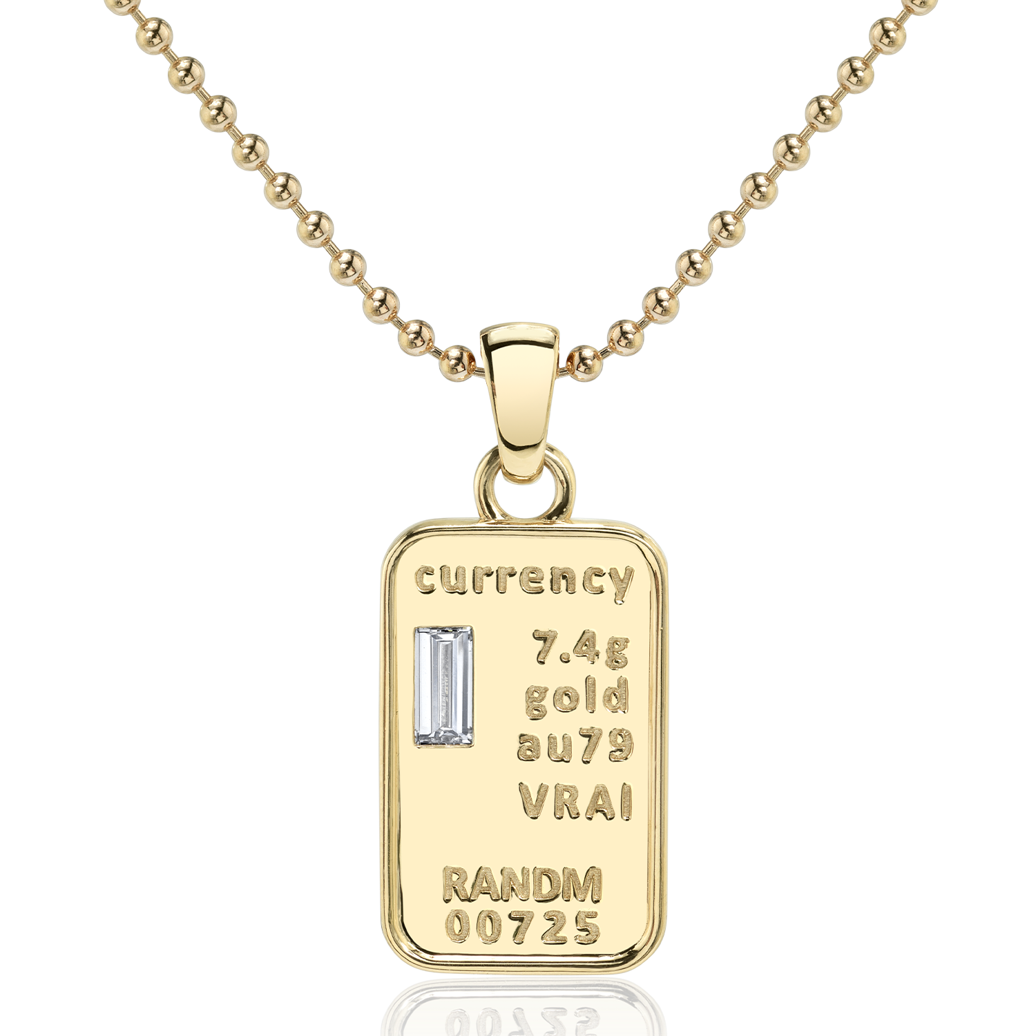 Currency Necklace