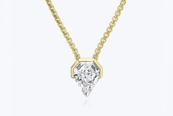 Unisex bridal jewelry, lab-grown diamonds