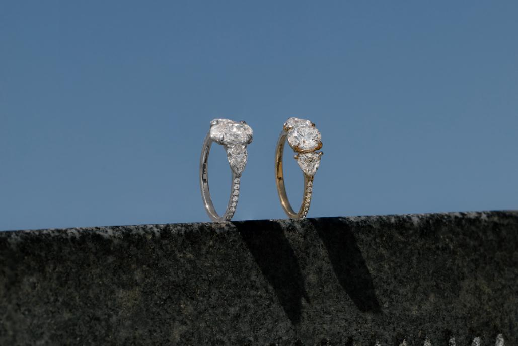 The Three Stone engagement ring