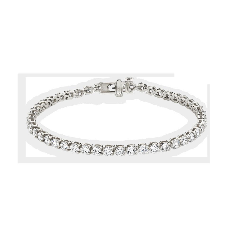 Tennis bracelet white gold