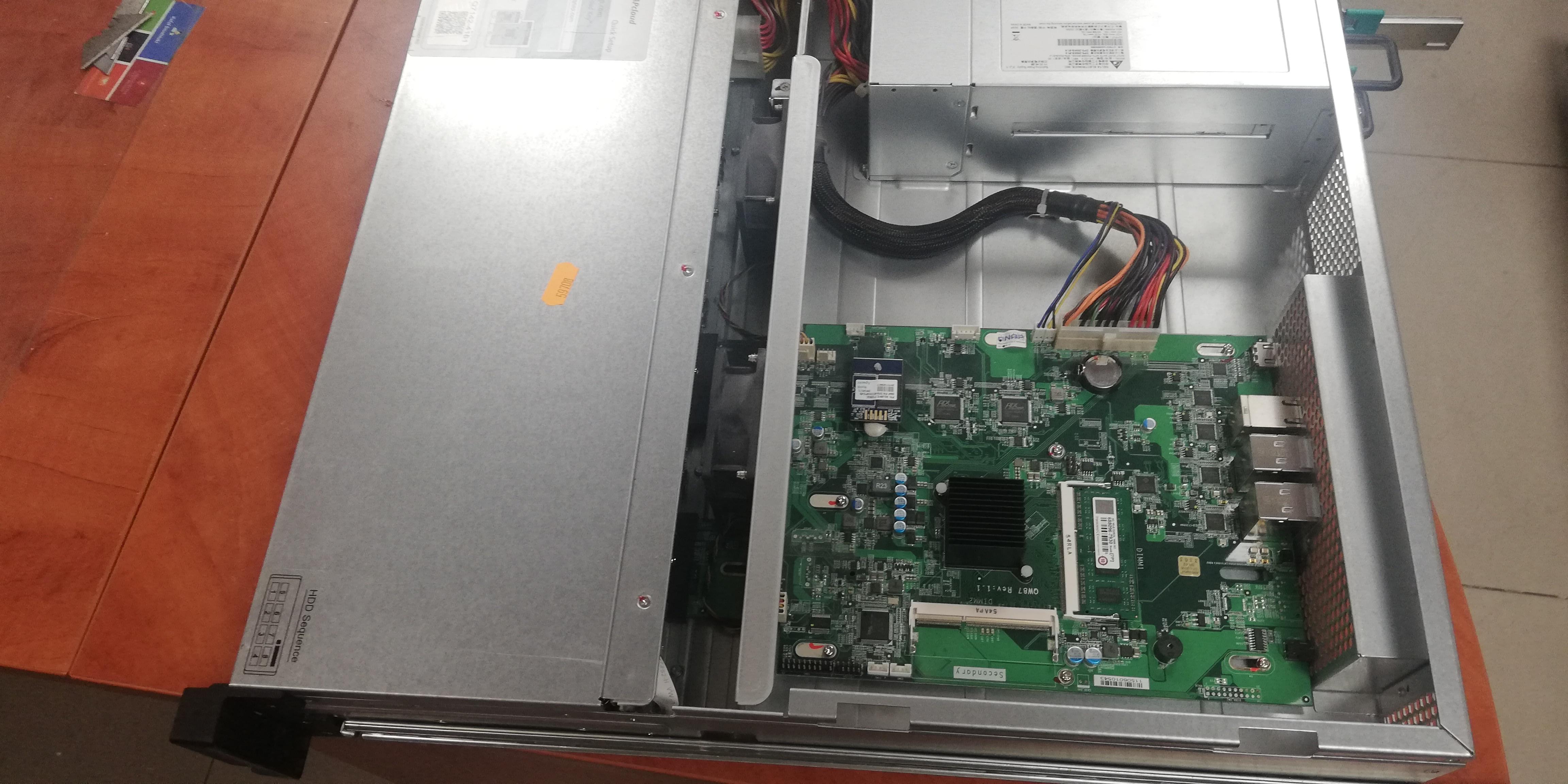 Serwer NAS QNAP RAOD 5 Odzyskiwanie danych