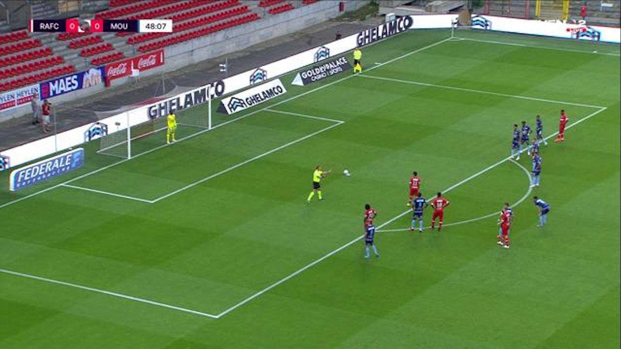 Doelpunt Lior Refaelov (Royal Antwerp FC vs. Royal Excel Mouscron)