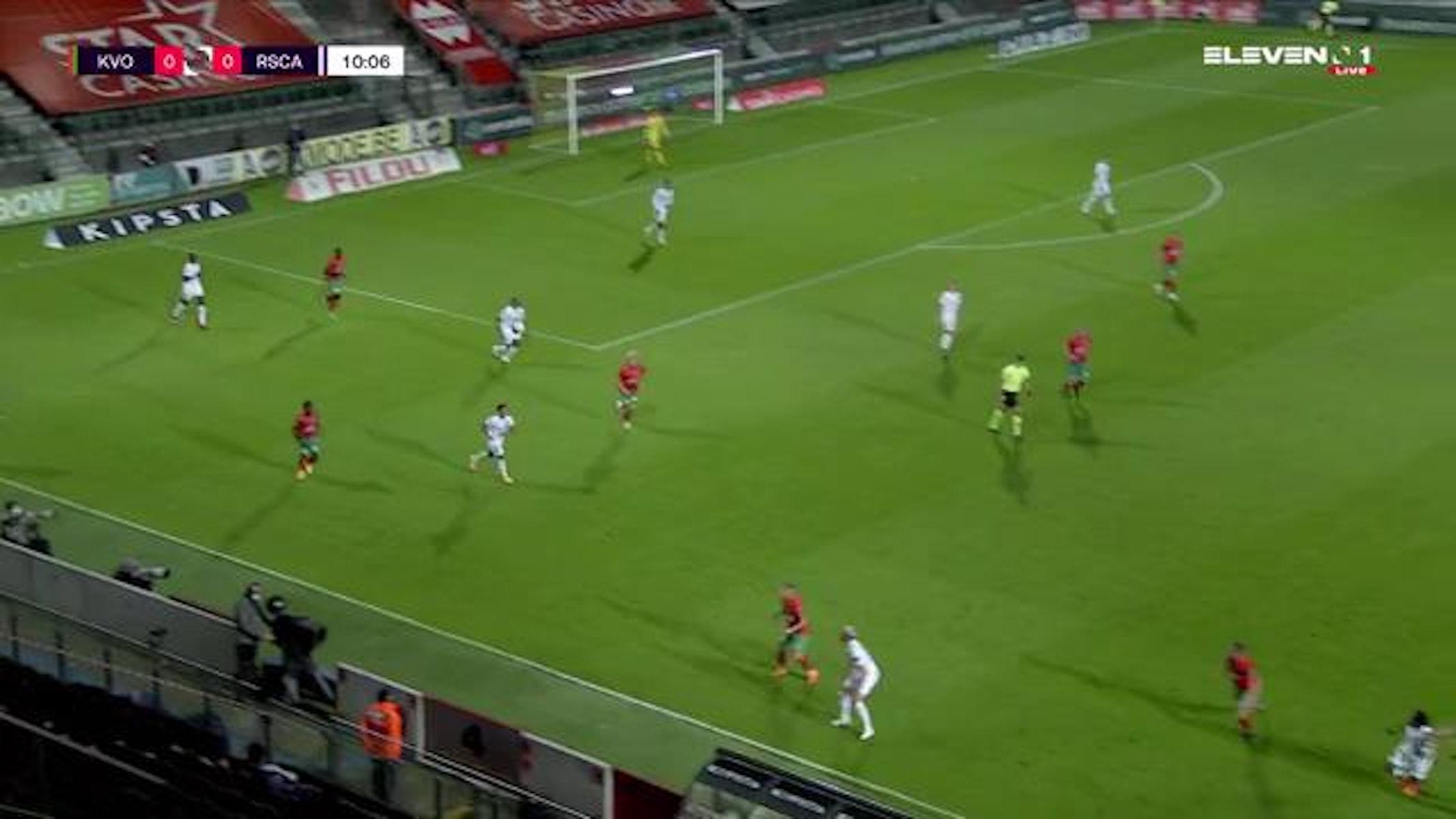 Doelpunt Robbie D'Haese (KV Oostende vs. RSC Anderlecht)