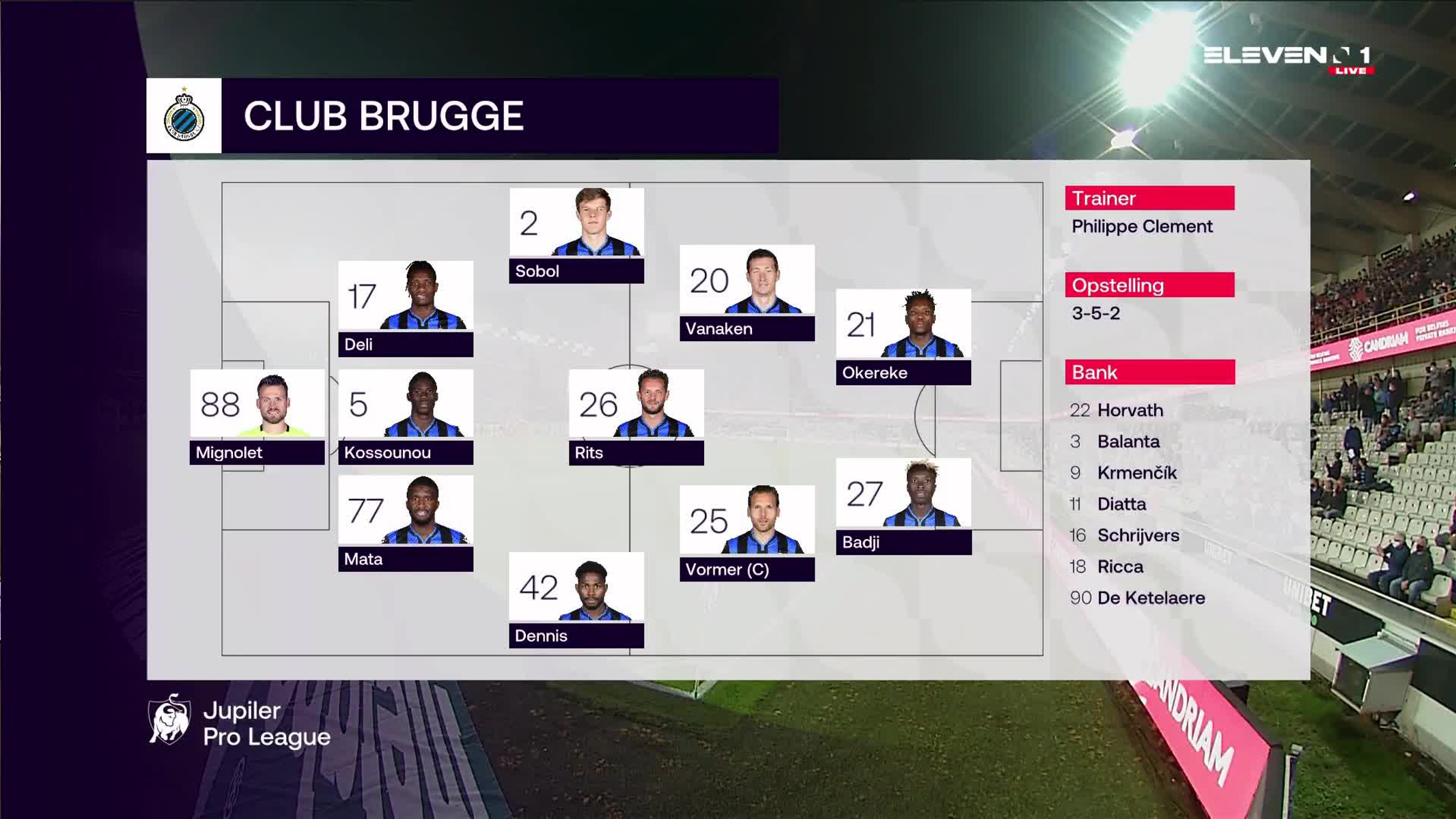 Samenvatting Club Brugge vs. Waasland-Beveren