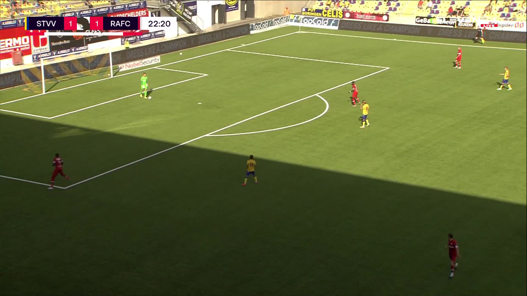 Doelpunt Seung-Woo Lee (STVV vs. Royal Antwerp FC)