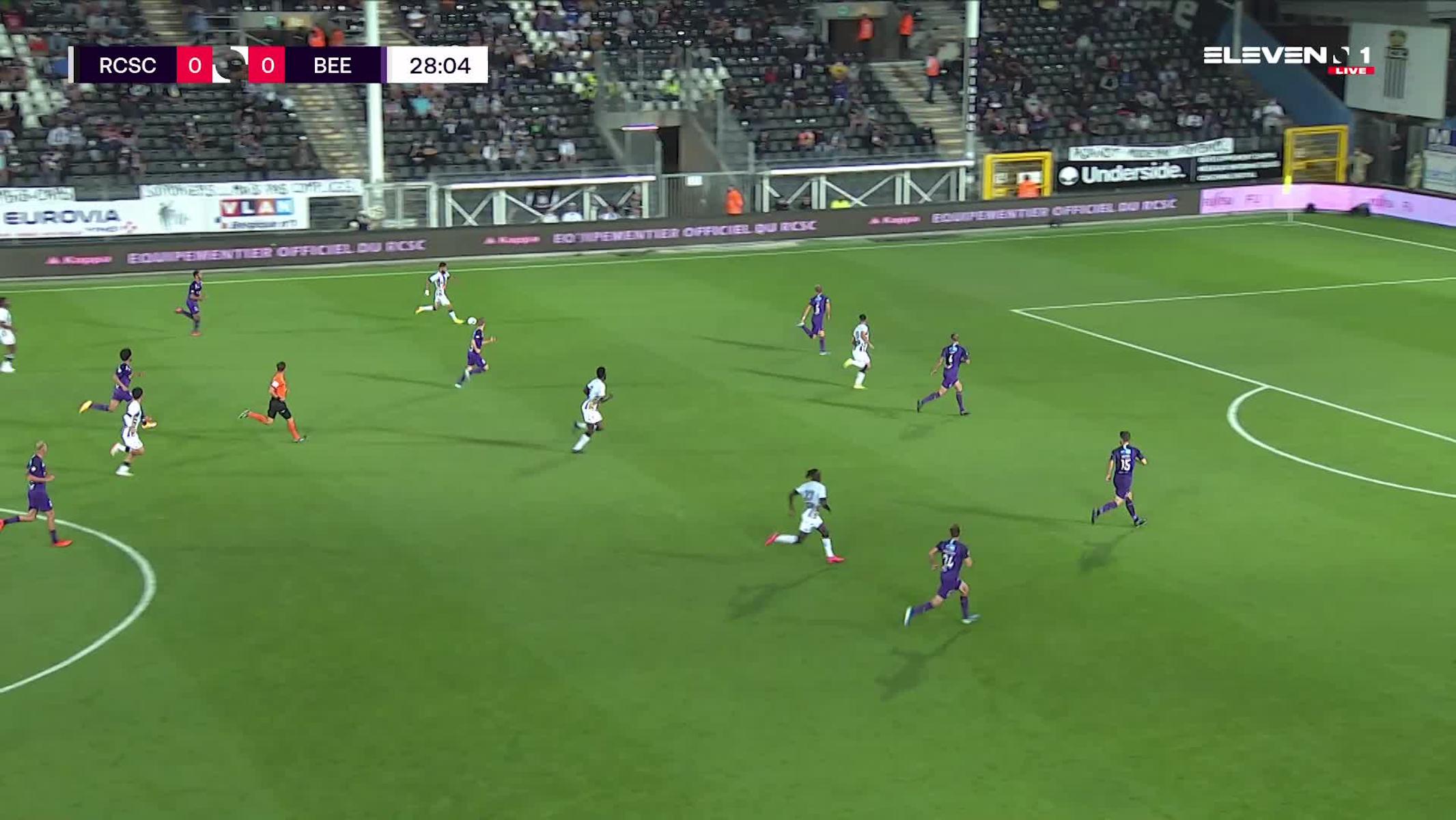 Doelpunt Kaveh Rezaei (Sporting Charleroi vs. K. Beerschot V.A.)