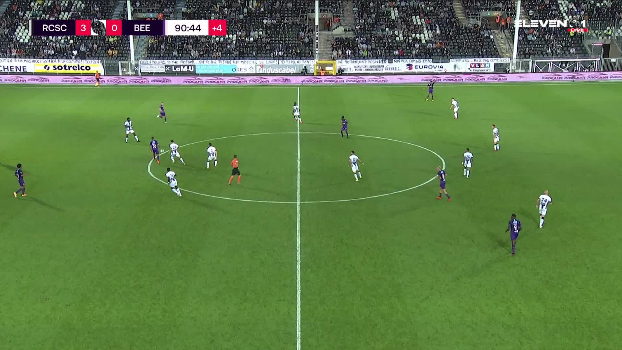 Doelpunt Musashi Suzuki (Sporting Charleroi vs. K. Beerschot V.A.)