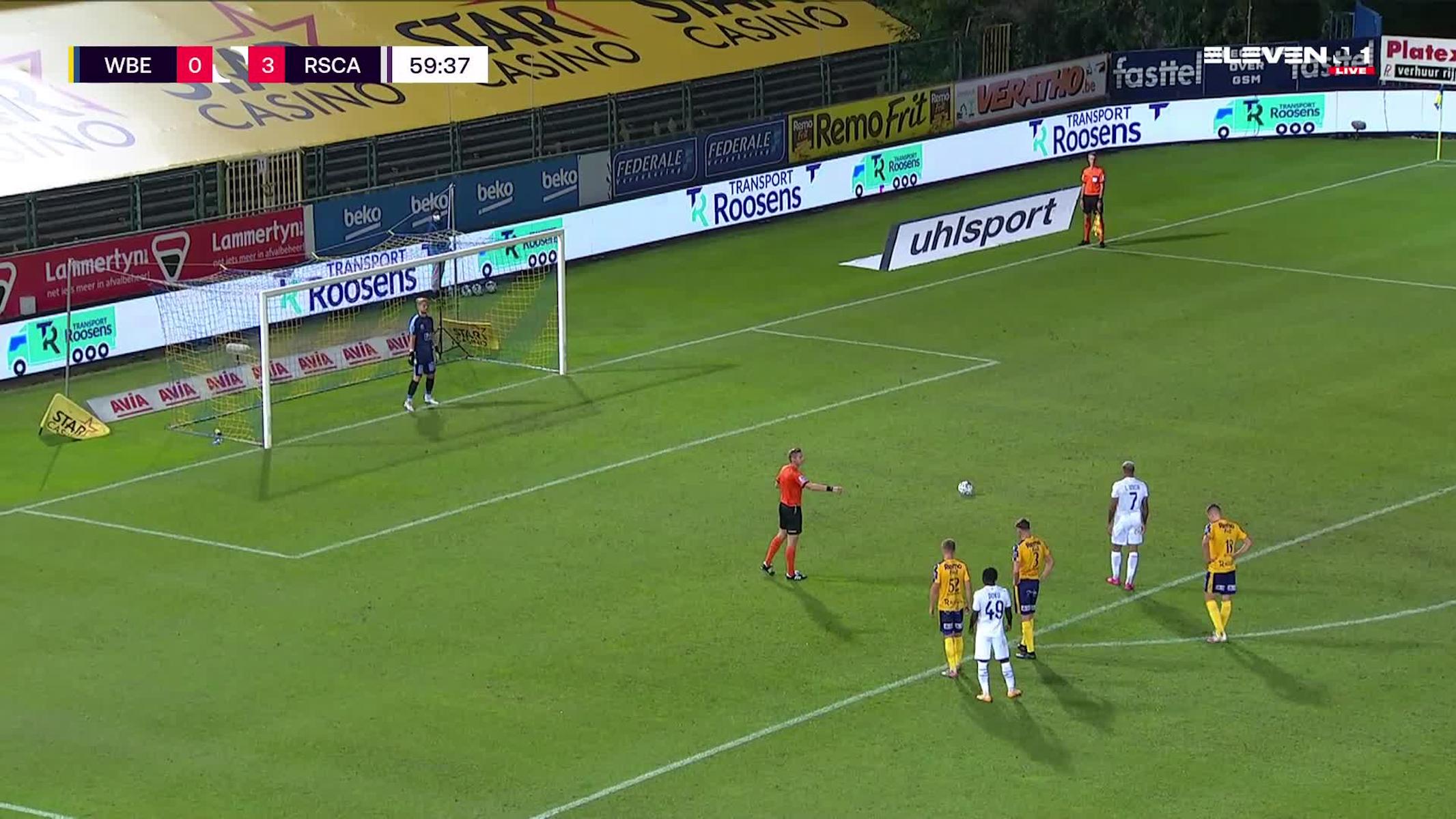 Penalty Lukas Nmecha vs. Waasland-Beveren