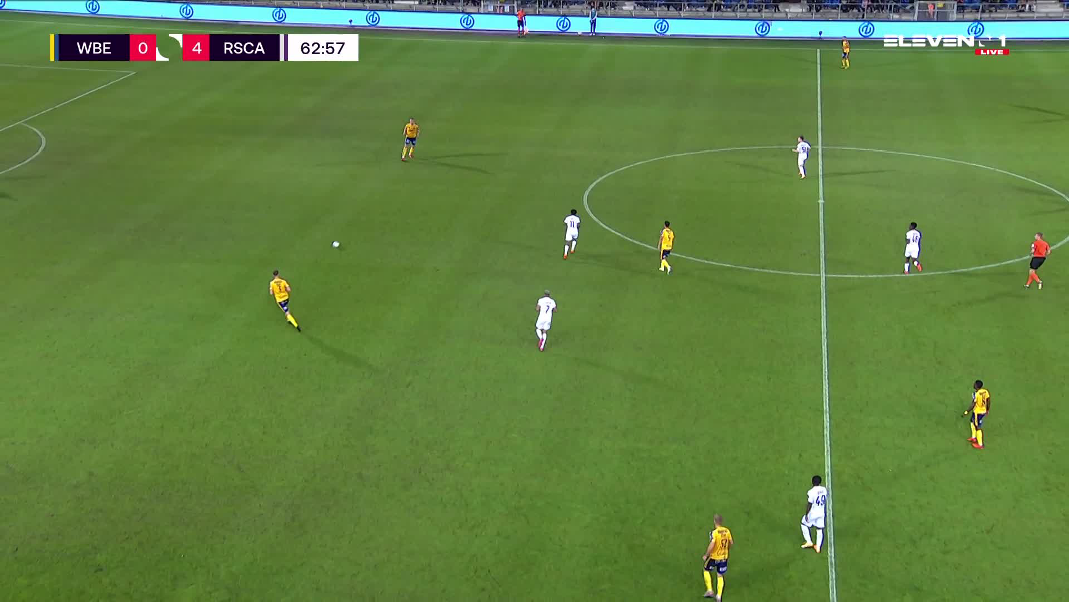 Doelpunt Din Sula (Waasland-Beveren vs. RSC Anderlecht)