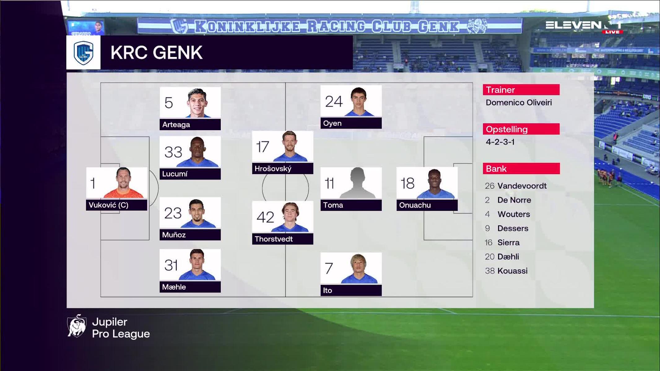 Samenvatting KRC Genk vs. KV Mechelen