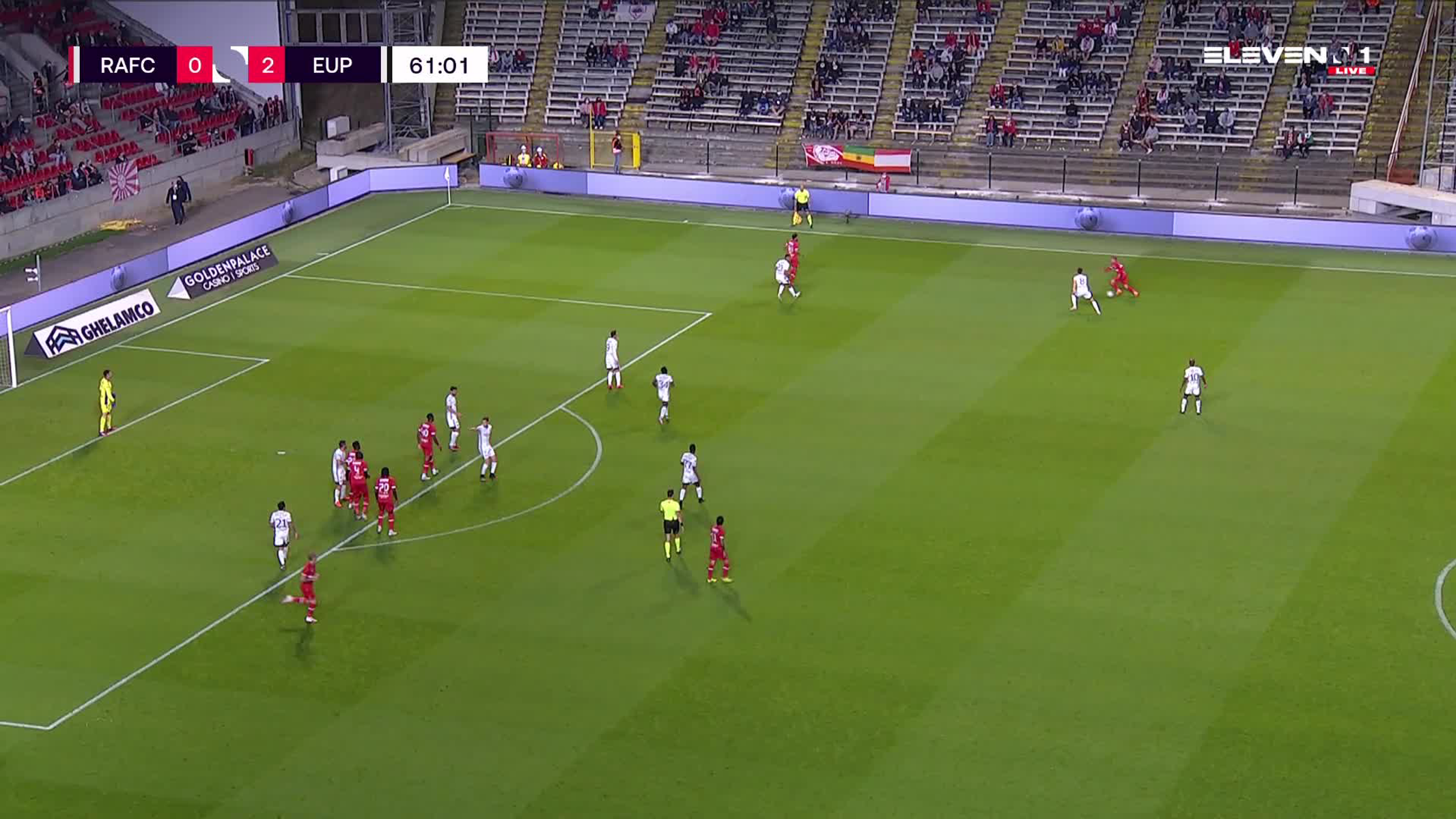 Doelpunt Junior Pius (Royal Antwerp FC vs. KAS Eupen)