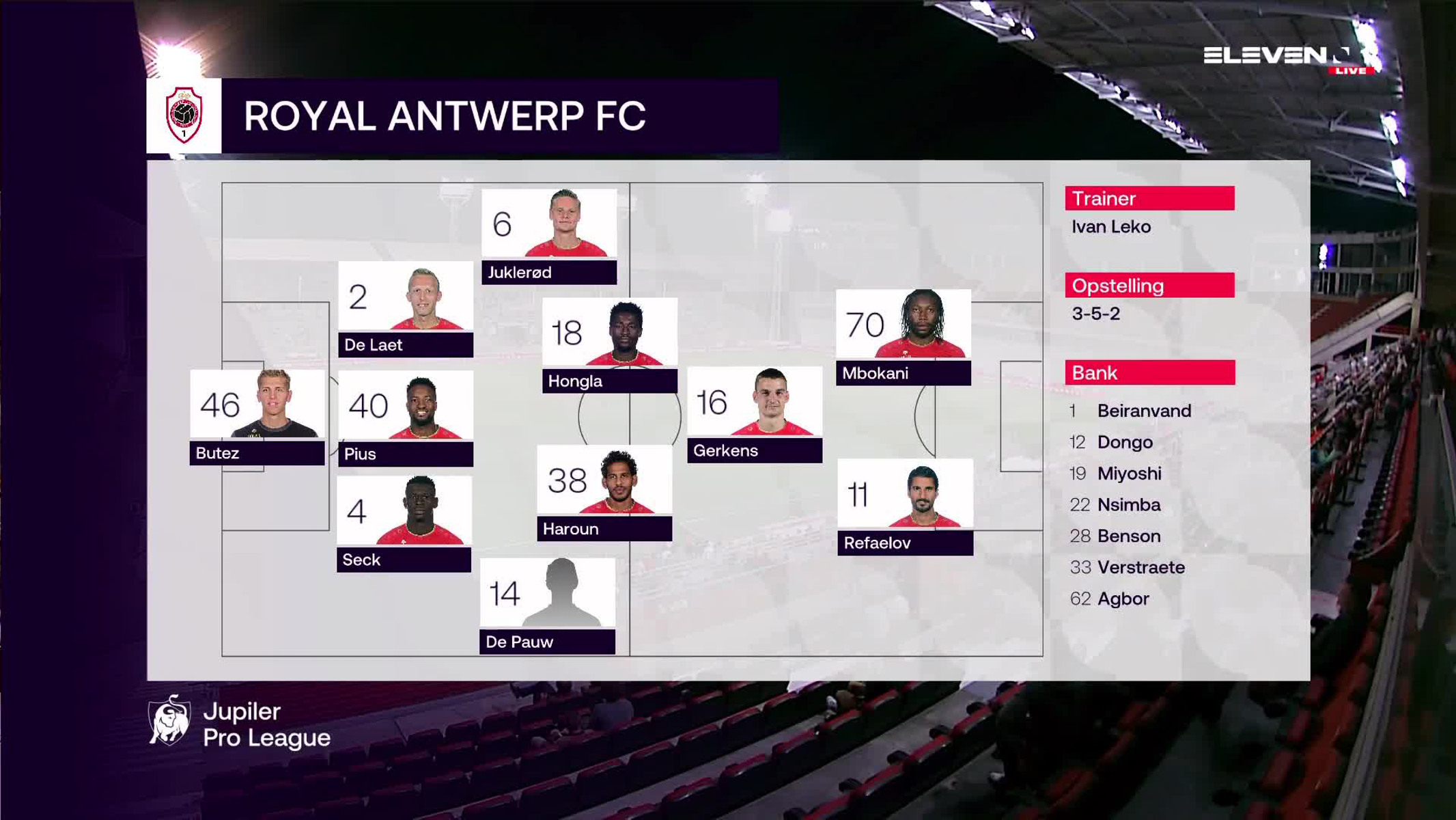 Samenvatting Royal Antwerp FC vs. KAS Eupen