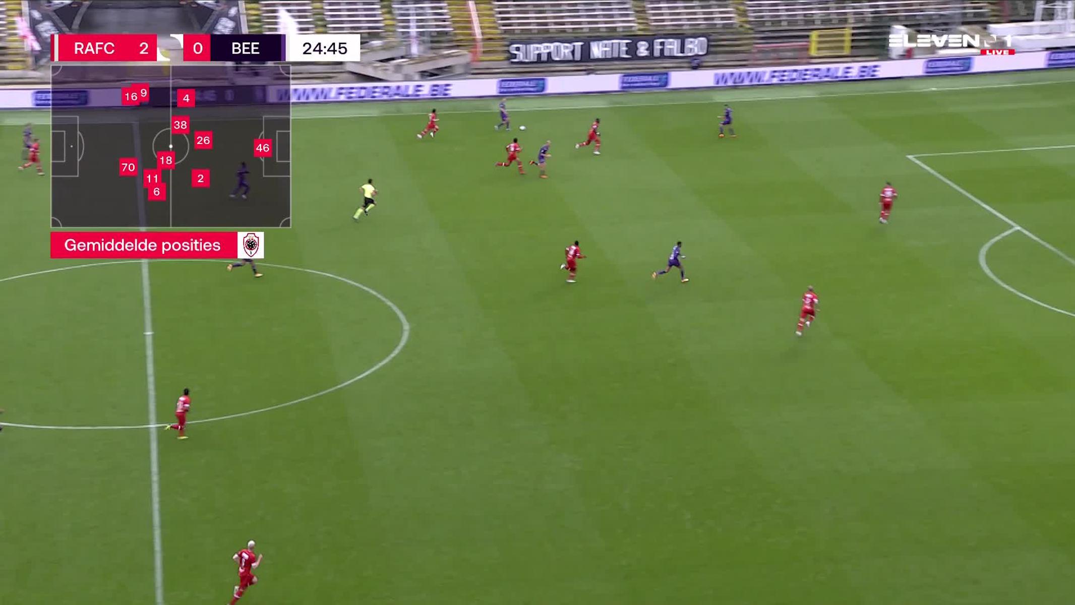 Doelpunt Musashi Suzuki (Royal Antwerp FC vs. K. Beerschot V.A.)