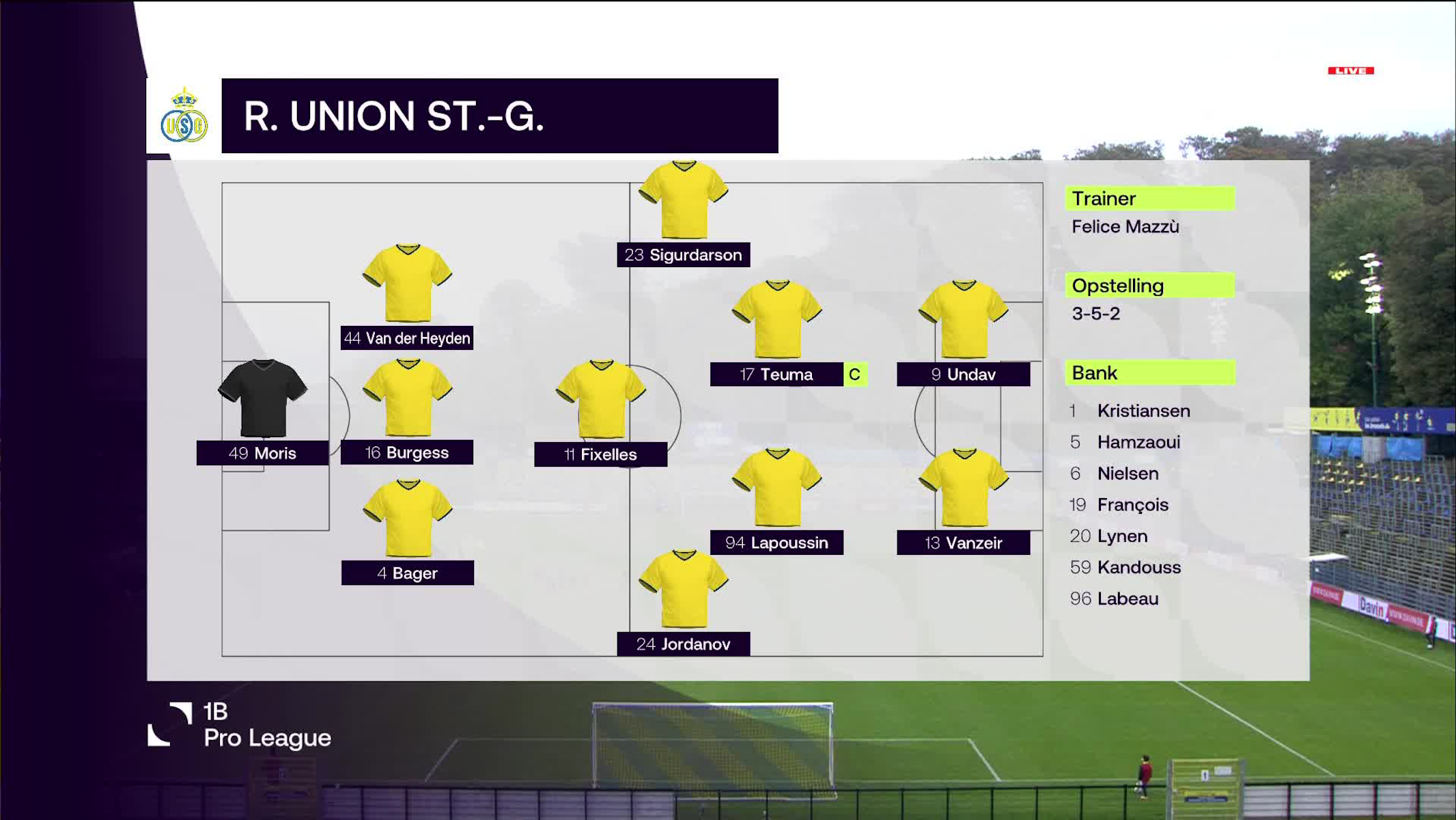 Samenvatting Royale Union Saint-Gilloise vs. Club NXT