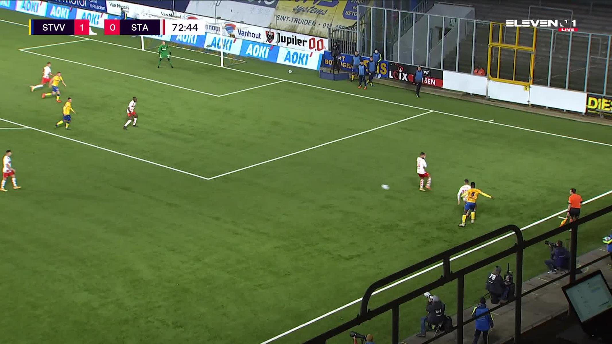 But Steve De Ridder (STVV vs. Standard de Liège)