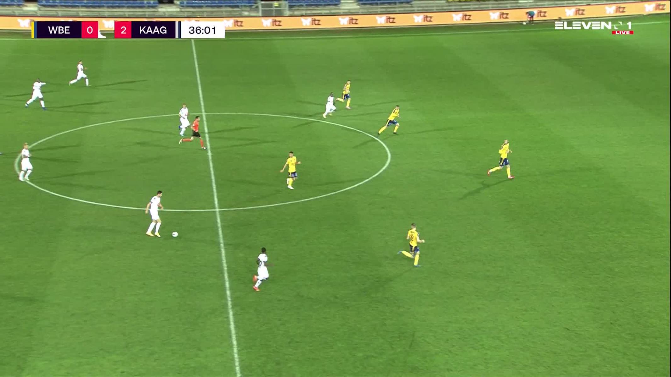 Doelpunt Roman Yaremchuk (Waasland-Beveren vs. KAA Gent)