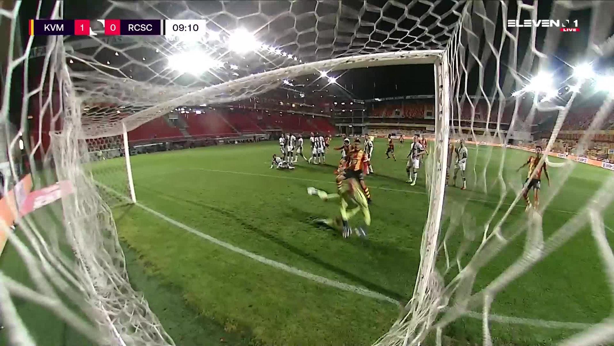 But Geoffrey Hairemans (KV Mechelen vs. Sporting Charleroi)