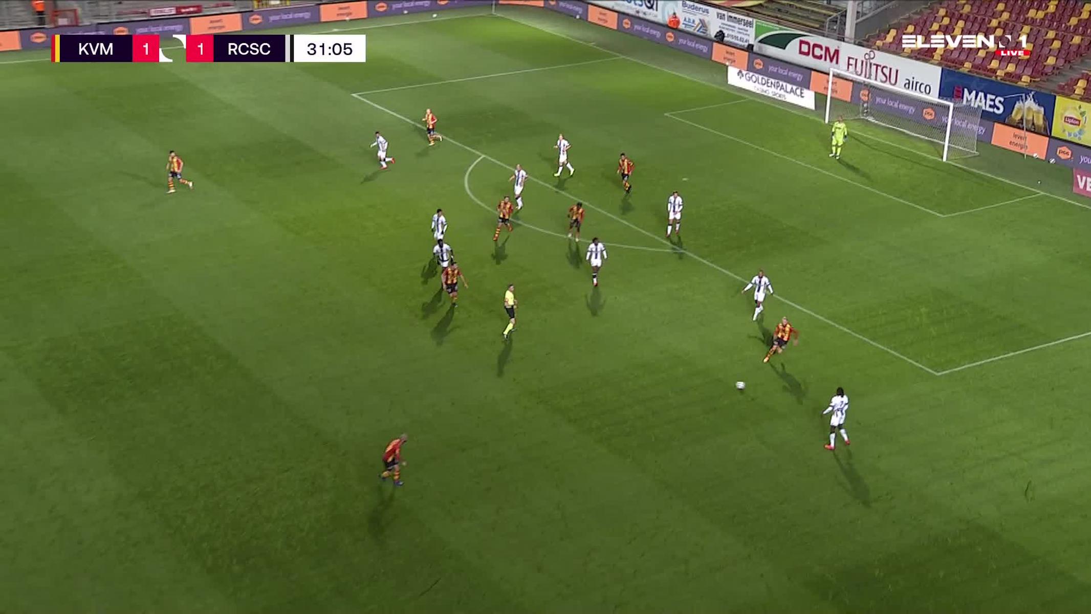 But Igor Alberto Rinck de Camargo (KV Mechelen vs. Sporting Charleroi)