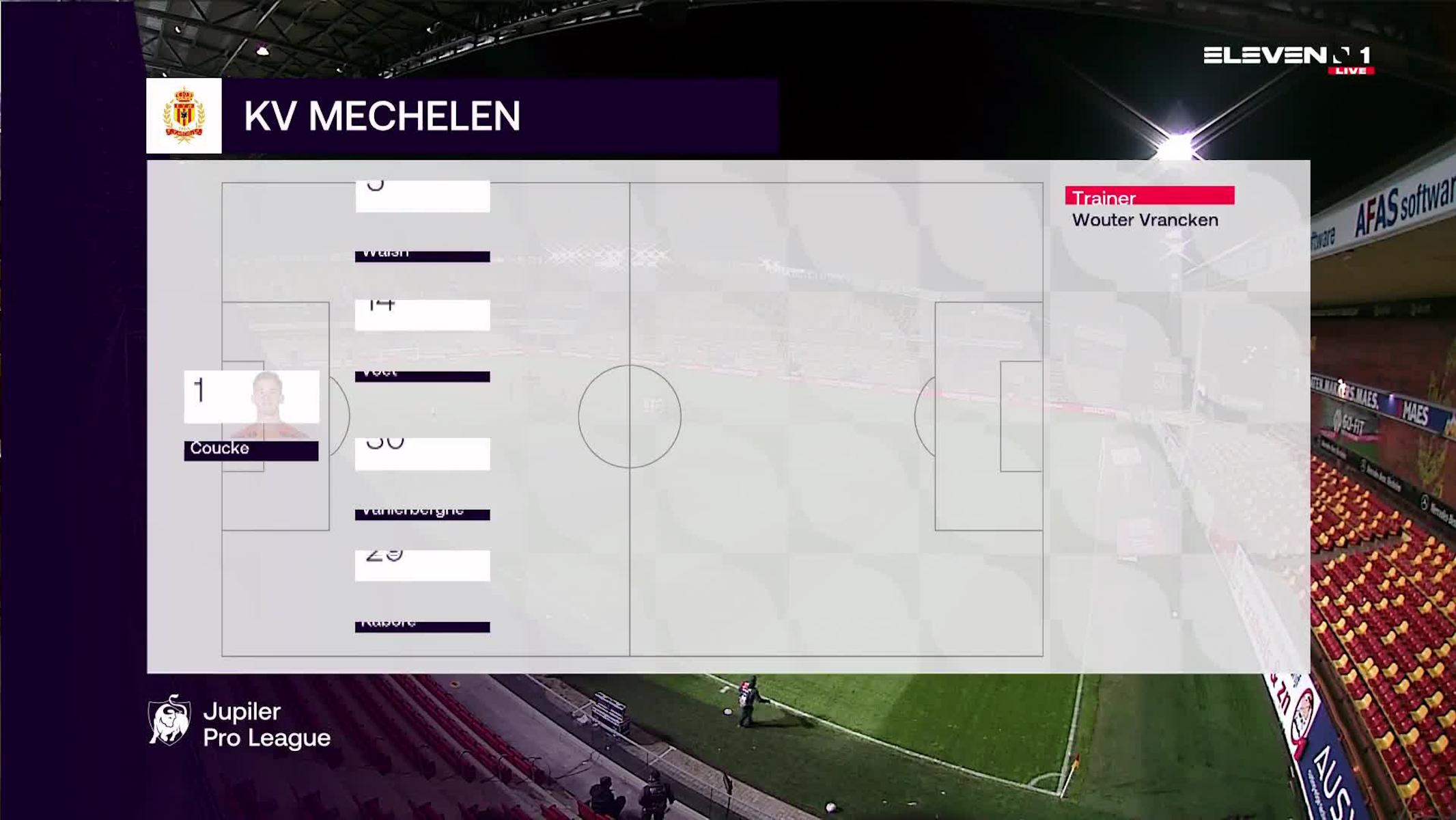 Samenvatting KV Mechelen vs. Sporting Charleroi