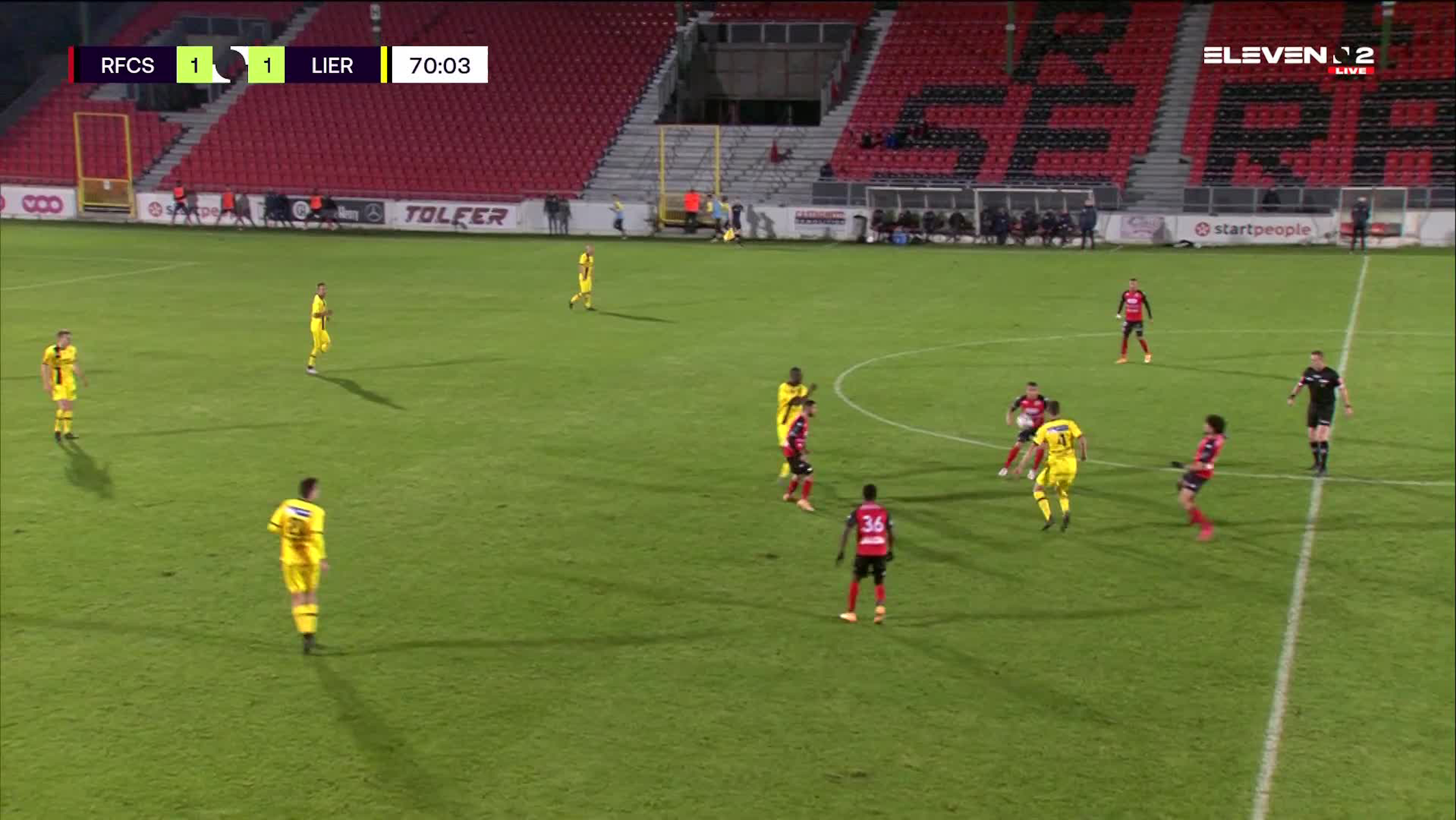 But Mèmè Placca Fessou (RFC Seraing vs. Lierse K)