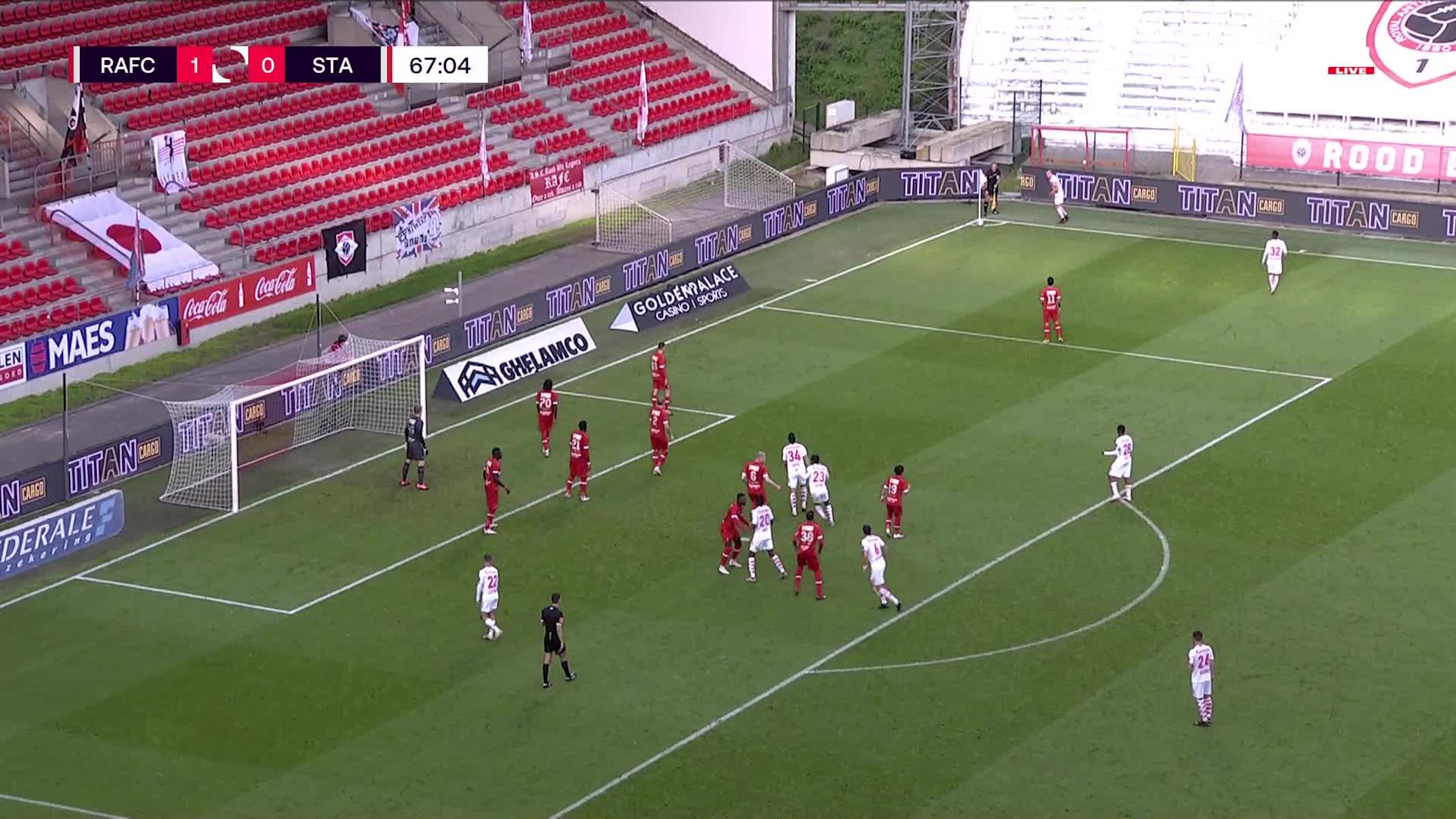 But Maxime Lestienne (Royal Antwerp FC vs. Standard de Liège)