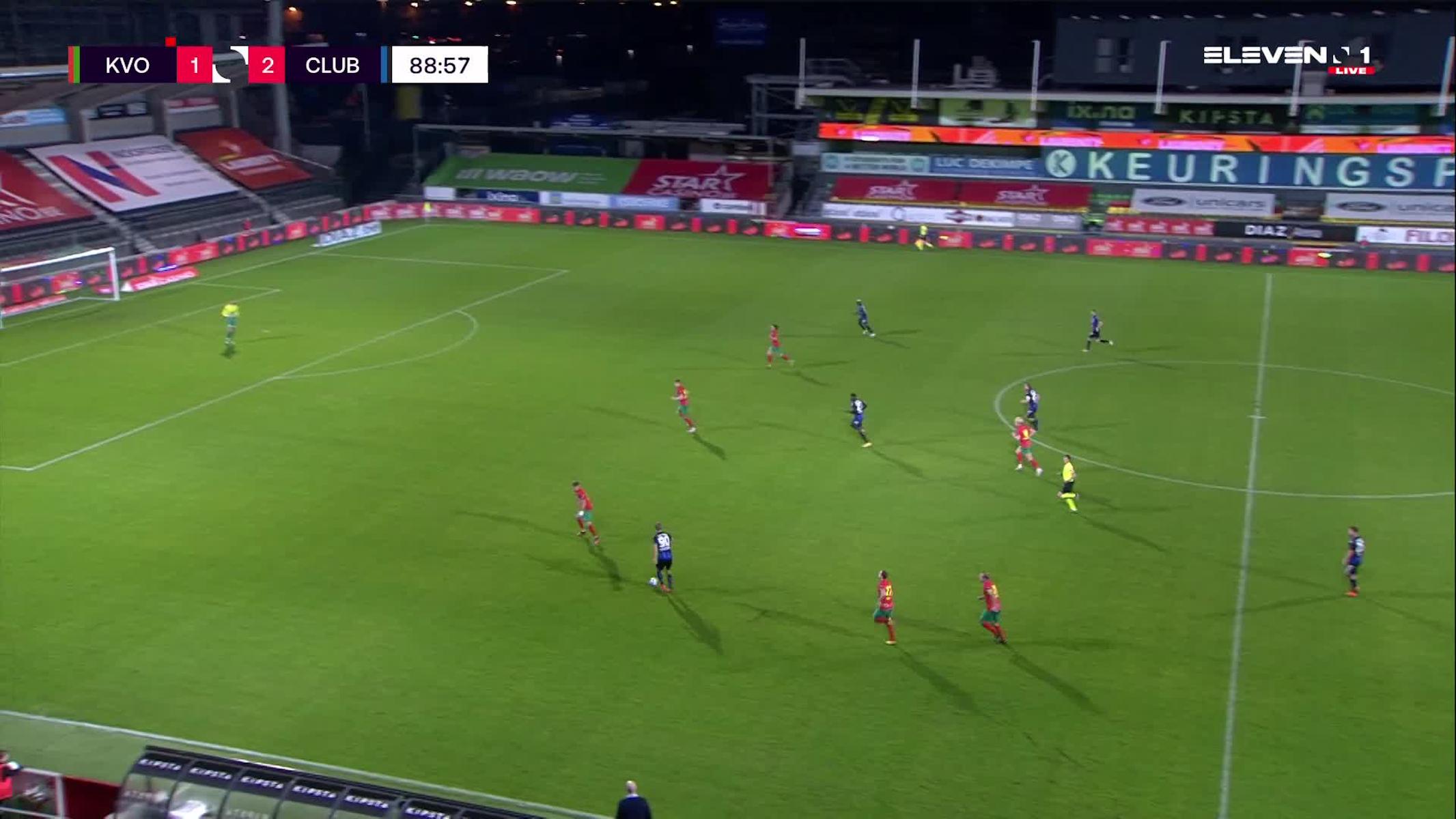 But Youssouph Mamadou Badji (KV Oostende vs. Club Brugge)