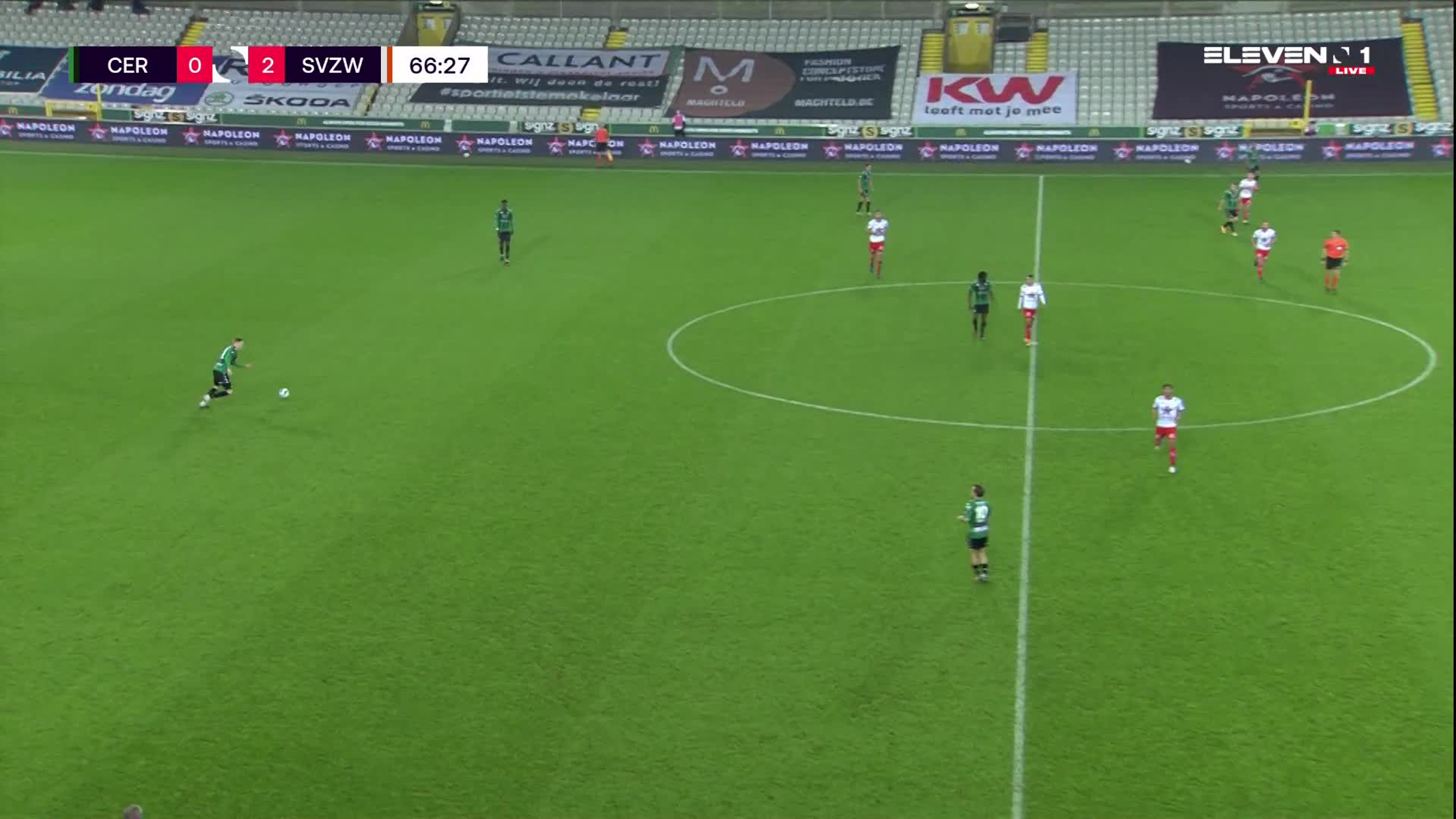 But Ike Ugbo (Cercle Brugge vs. SV Zulte Waregem)
