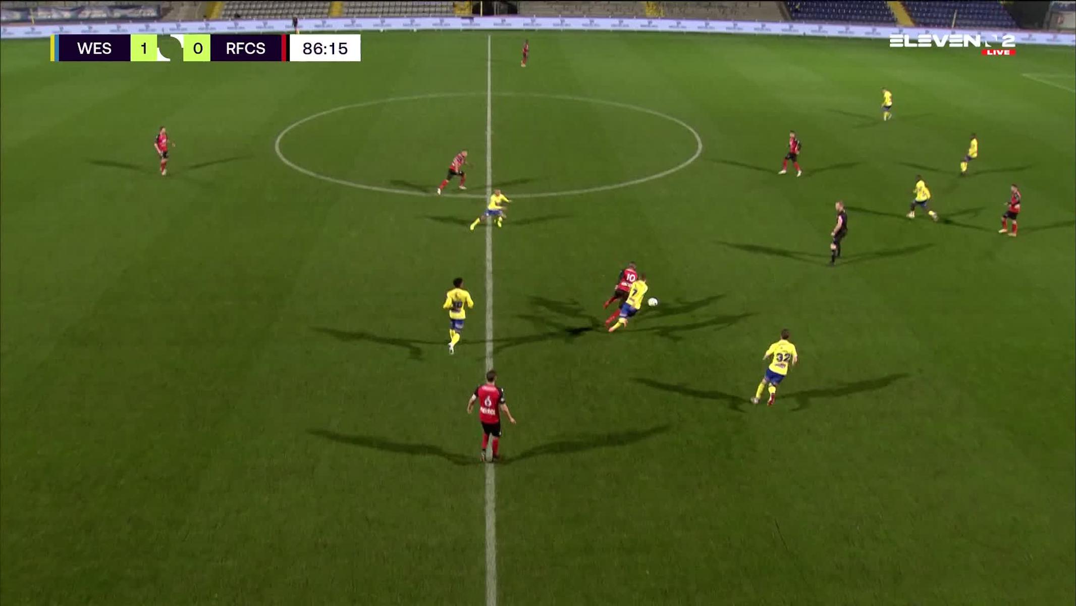 But Amadou Dia N'Diaye (KVC Westerlo vs. RFC Seraing)