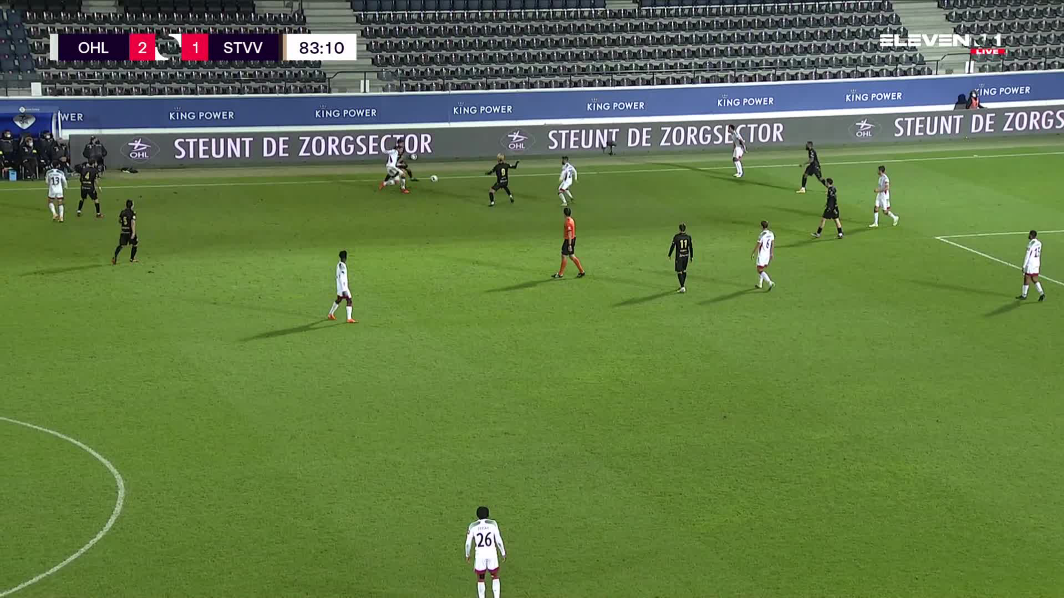 Doelpunt Duckens Nazon (OH Leuven vs. STVV)