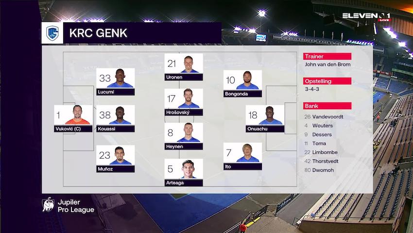 Samenvatting KRC Genk vs. KV Kortrijk