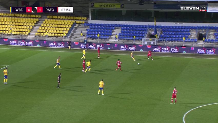 Doelpunt Nana Ampomah (Waasland-Beveren vs. Royal Antwerp FC)