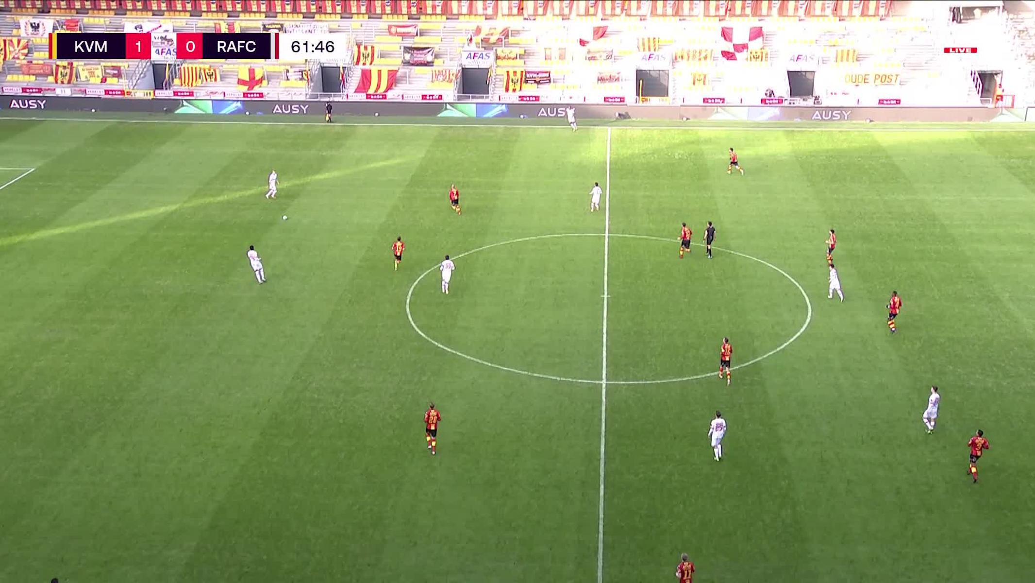 Doelpunt Geoffrey Hairemans (KV Mechelen vs. Royal Antwerp FC)