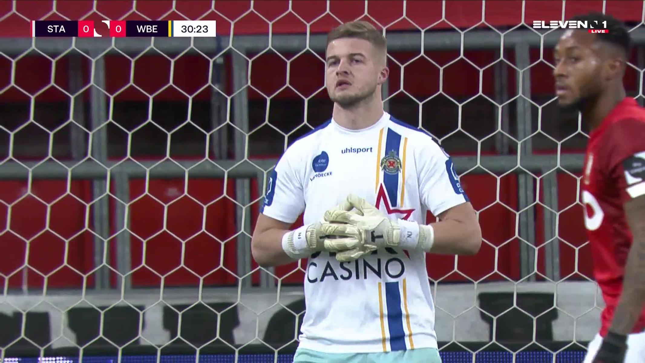 Doelpunt Selim Amallah (Standard de Liège vs. Waasland-Beveren)