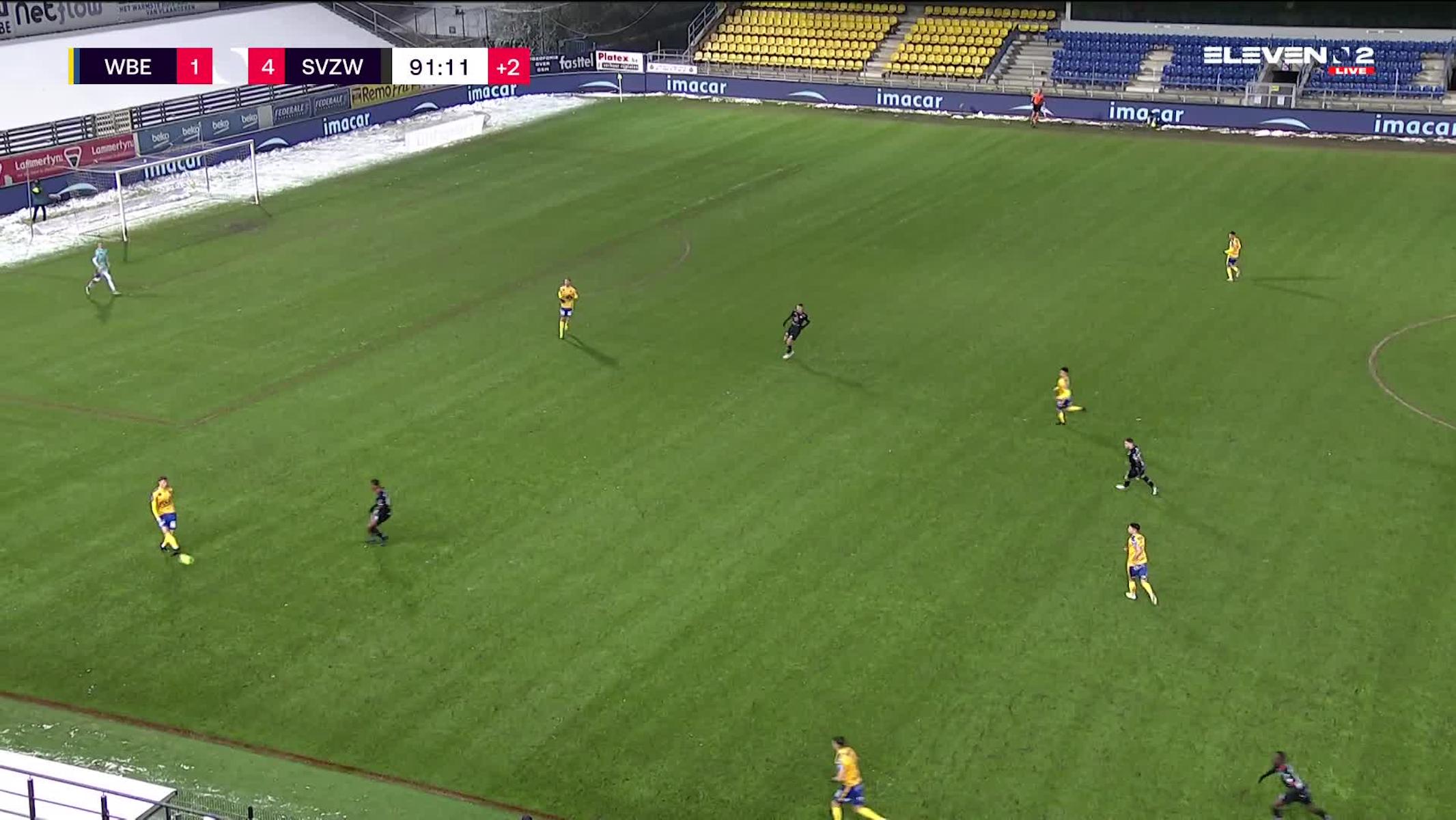 Doelpunt Panos Armenakas (Waasland-Beveren vs. SV Zulte Waregem)