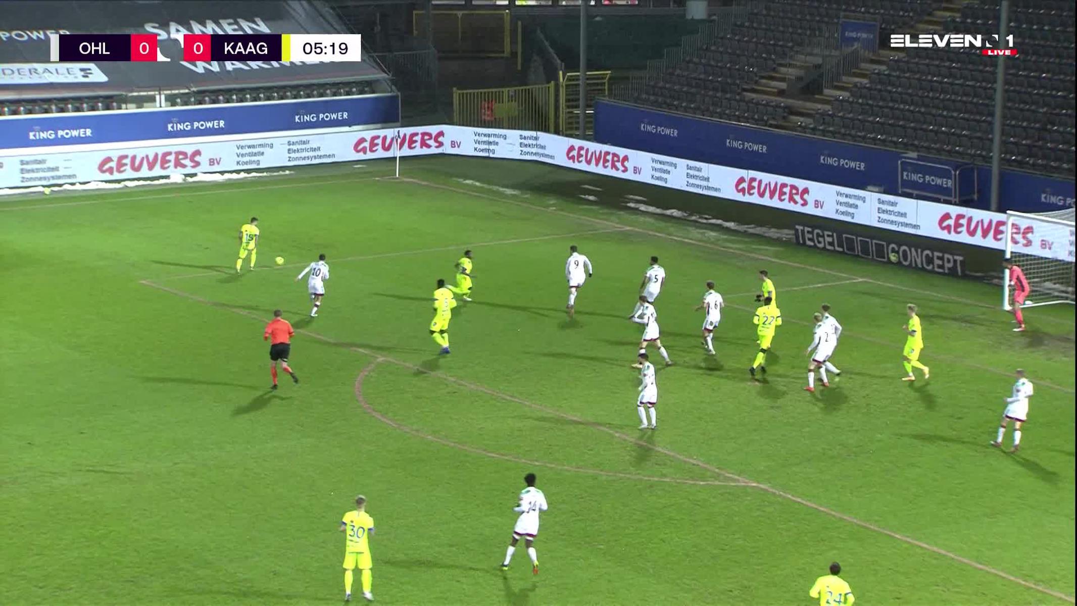 Doelpunt Milad Mohammadi (OH Leuven vs. KAA Gent)