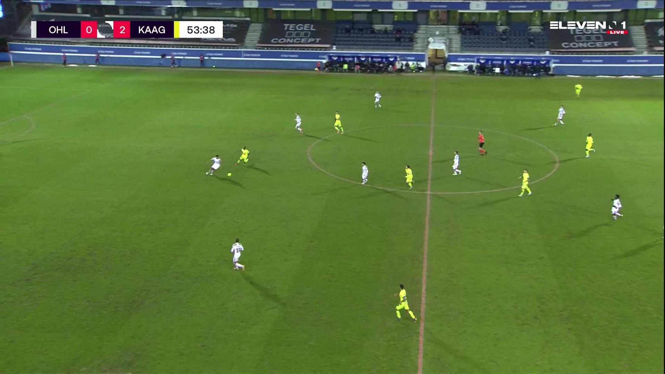 Doelpunt Osman Bukari (OH Leuven vs. KAA Gent)