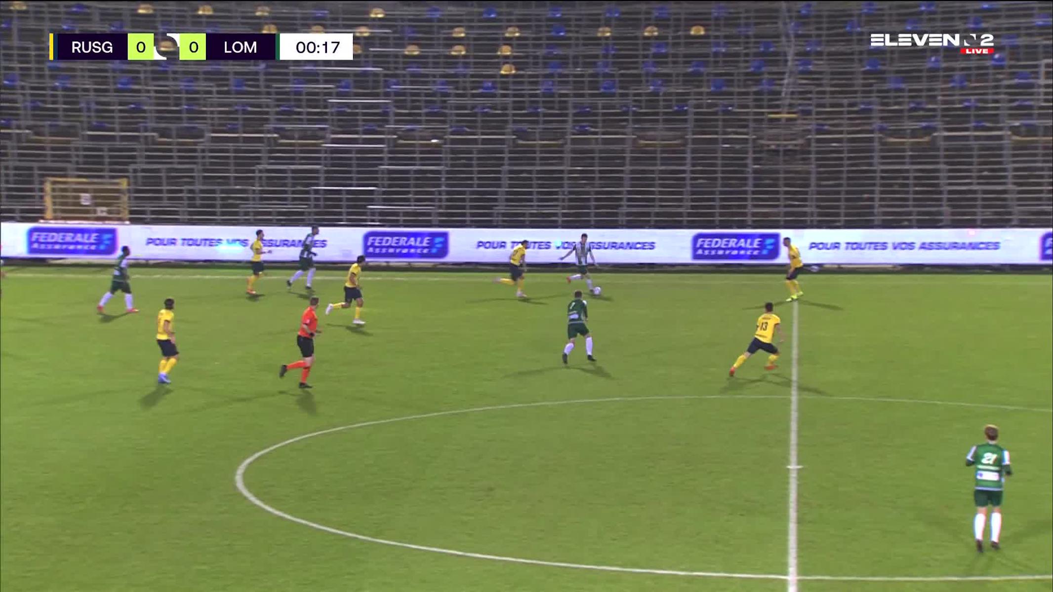 Doelpunt Arno Verschueren (Royale Union Saint-Gilloise vs. Lommel SK)