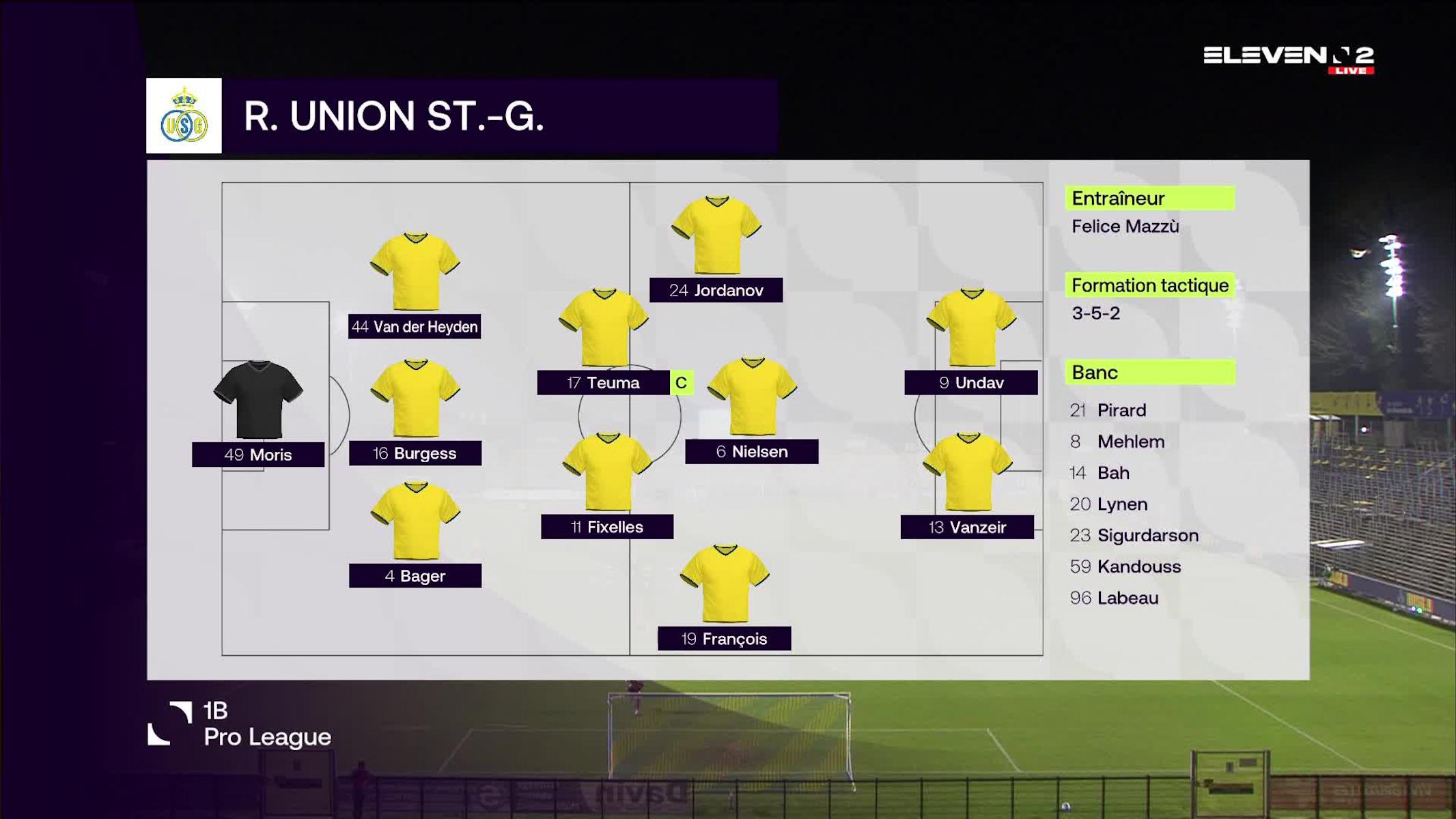 Résumé Royale Union Saint-Gilloise vs. Lommel SK
