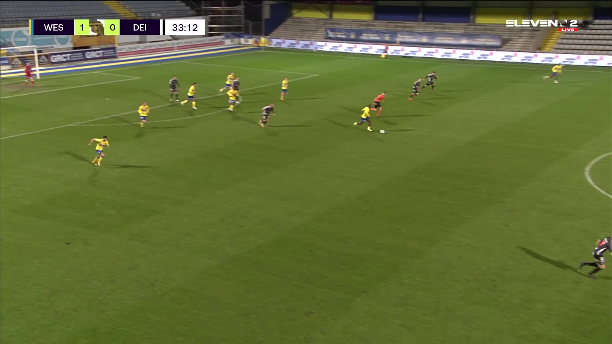 But Abdul Keita (KVC Westerlo vs. KMSK Deinze)