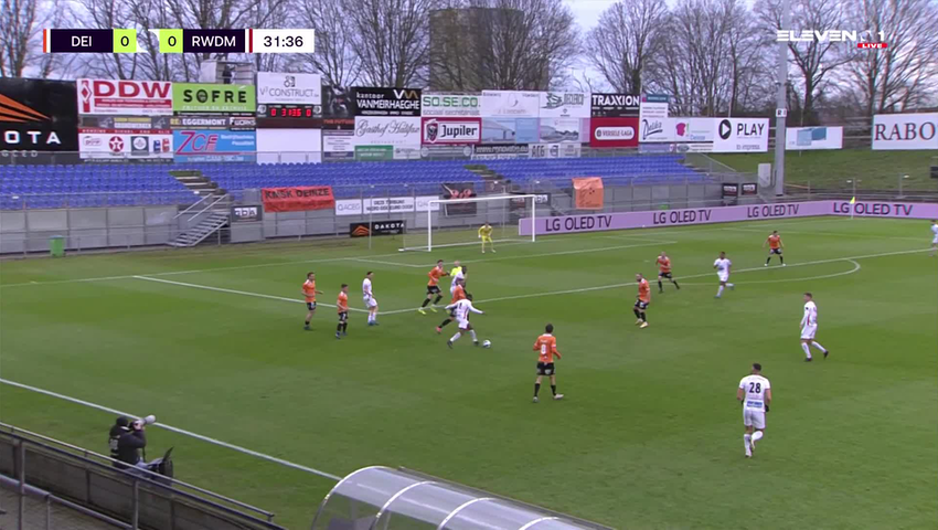 Samenvatting KMSK Deinze vs. RWDM