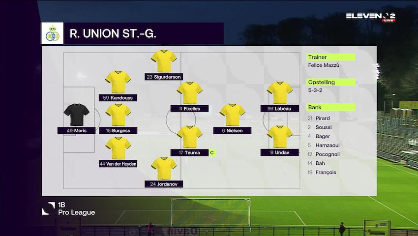 Samenvatting Royale Union Saint-Gilloise vs. RFC Seraing