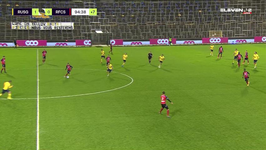 Doelpunt Teddy Teuma (Royale Union Saint-Gilloise vs. RFC Seraing)