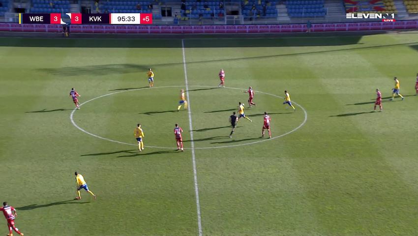 Doelpunt Faiz Selemani (Waasland-Beveren vs. KV Kortrijk)