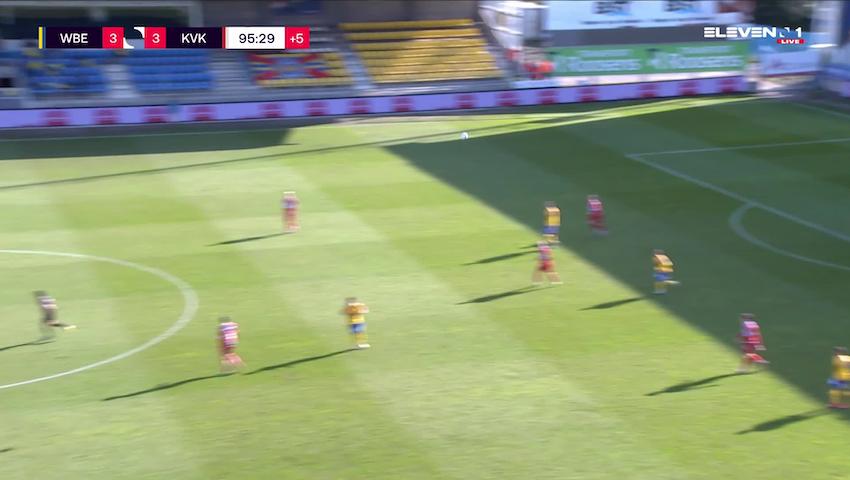 But Faiz Selemani (Waasland-Beveren vs. KV Kortrijk)