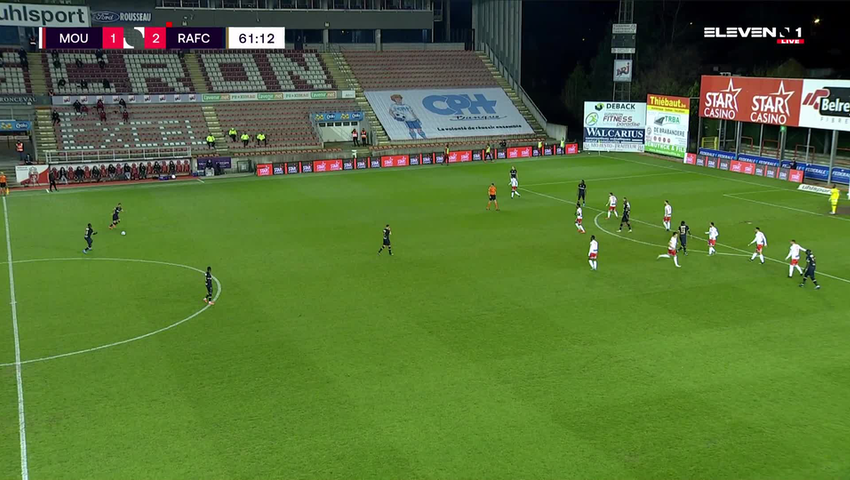 Doelpunt Abdoulaye Seck (Royal Excel Mouscron vs. Royal Antwerp FC)