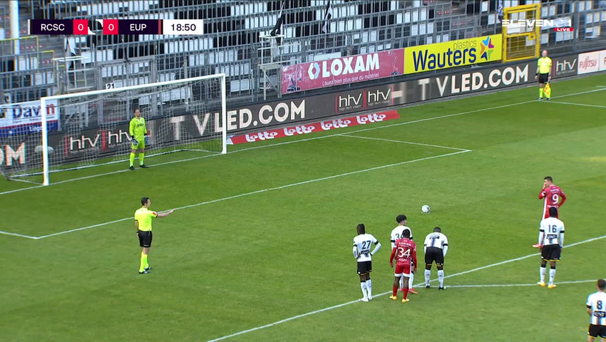 But Smail Prevljak (Sporting Charleroi vs. KAS Eupen)