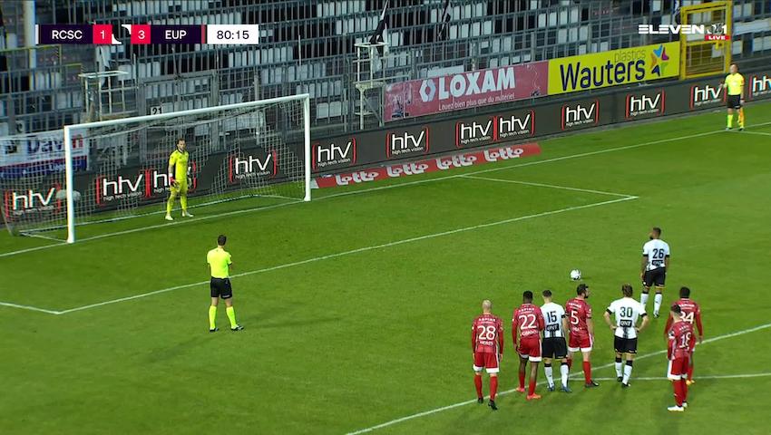 But Marco Ilaimaharitra (Sporting Charleroi vs. KAS Eupen)