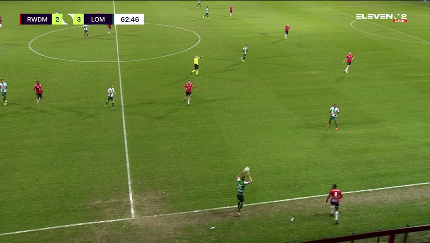 Doelpunt Anass Zaroury (RWDM vs. Lommel SK)